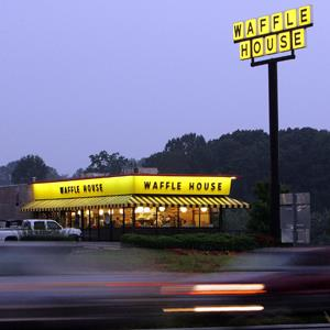 File photo of a Waffle House breakfast diner near Dawsonville, Ga. on July 28, 2005 (© Ric Feld/AP Photo)