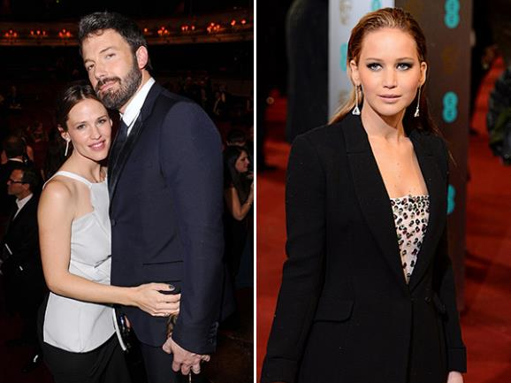 Jennifer Garner and Ben Affleck were cute; Jennifer Lawrence cut an elegant figure at the Baftas