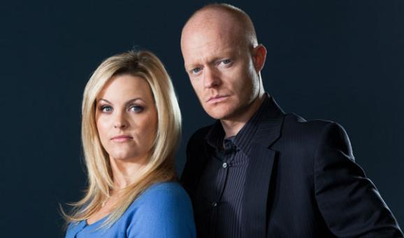 EastEnders' Max and Tanya (c) BBC