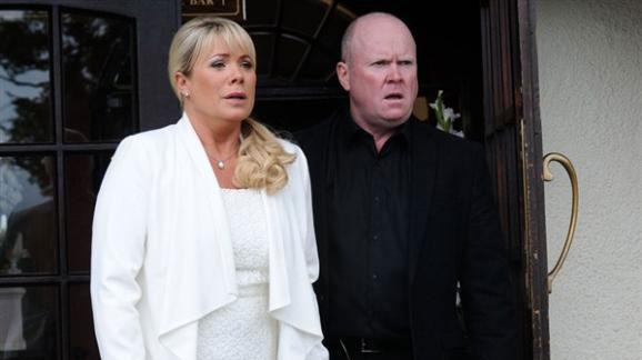 EastEnders' Sharon and Phil