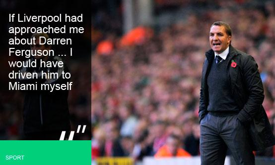 Brendan Rodgers is going to Anfield