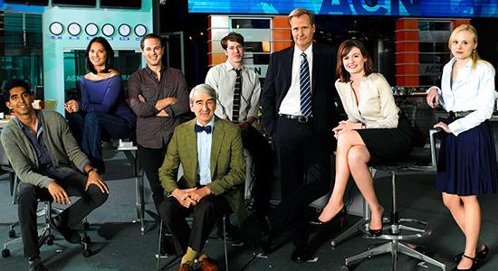 El equipo de 'The Newsroom'. Foto: HBO