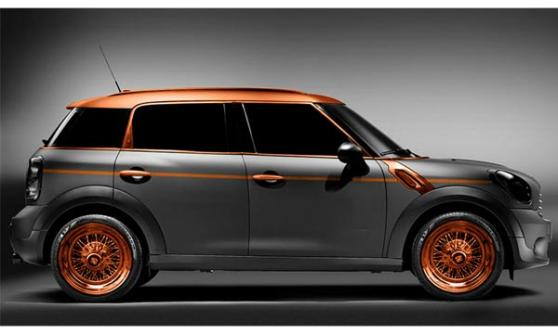 Carlex Design Steampunk MINI Countryman (c) Carlex Design