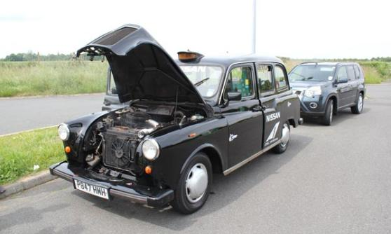 Black cab broken (c) Motoring Research