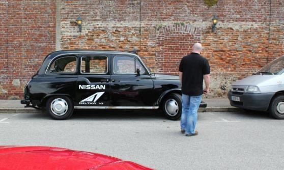 Nissan Taxi on the way to Le Mans (c) Motoring Research