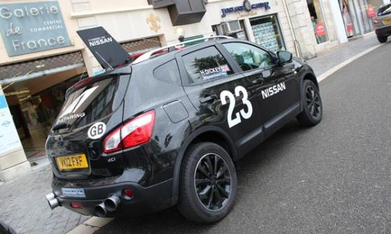 Fake DeltaTribe DeltaWing Nissan Qaashqai (c) Motoring Research