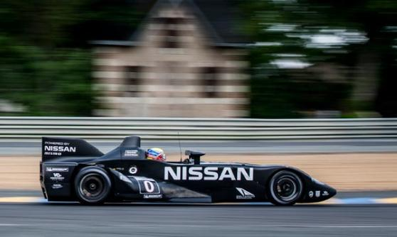 Nissan DeltaWing - what it used to look like (c) Nissan