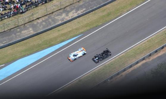View from the helicopter at Le Mans 2012 (c) Motoring Research
