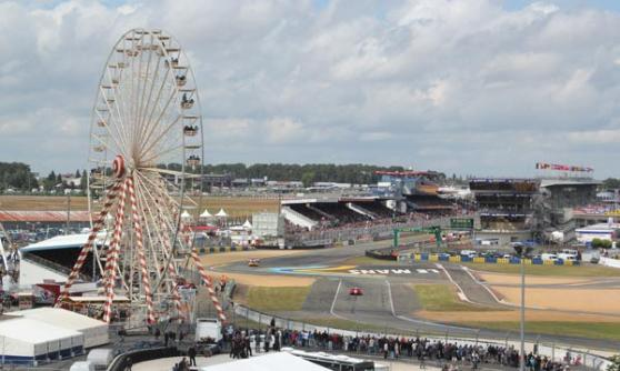 Ferris wheel from the grandstand in the sky, Le Mans 2012 (c) Motoring Research