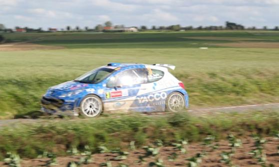 Loix, Peugeot, Rally Ypres 2012 (c) Motoring Research