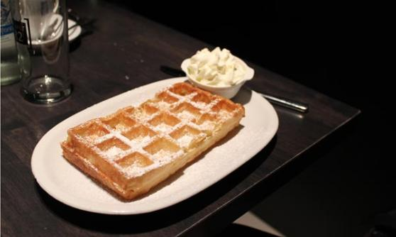 Waffle – well when in Belgium... (c) Motoring Research