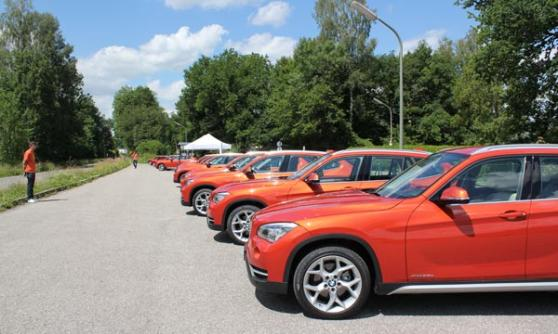 2012 BMW X1, Valenica Orange (c) Motoring Research