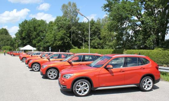2012 BMW X1, Valencia Orange (c) Motoring Research