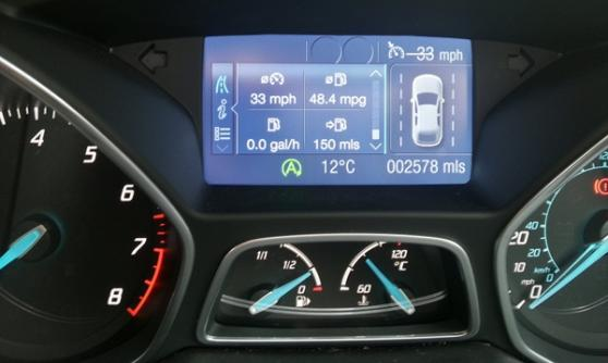2012 Ford Focus 1.0 EcoBoost - (C) Motoring Research