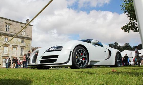 Bugatti Veyron at Wilton House 2012 (c) CJ Hubbard / Motoring Research