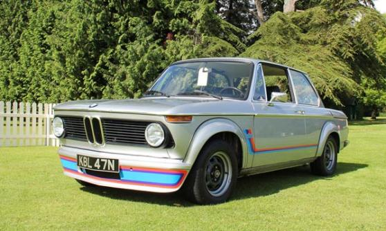 BMW 2002 Turbo at Wilton House 2012 (c) CJ Hubbard / Motoring Research