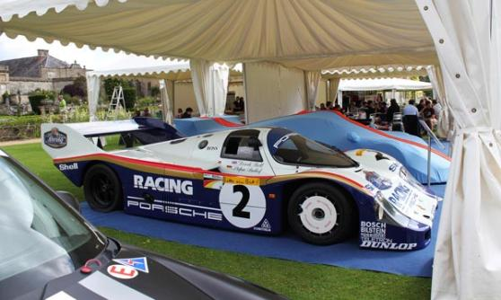 Porsche 956-007 Stefan Bellof at Wilton House 2012 (c) CJ Hubbard / Motoring Research