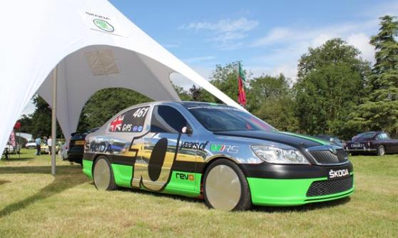 202mph Skoda Octavia at Wilton House 2012 (c) CJ Hubbard / Motoring Research