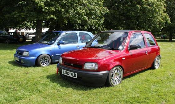 Nissan Micra K11, low, Beaulieu Simply Japanese 2012 (c) CJ Hubbard / Motoring Research