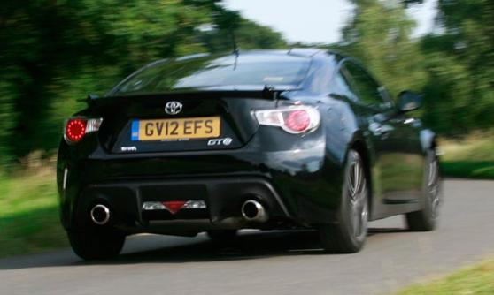 Toyota GT86 (c) Richard Aucock / Motoring Research