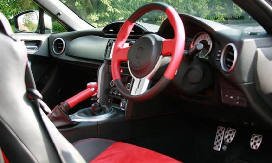 Toyota GT86 interior / Richard Aucock / Motoring Research
