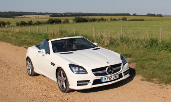 Mercedes SLK250 CDI (c) CJ Hubbard / Motoring Research