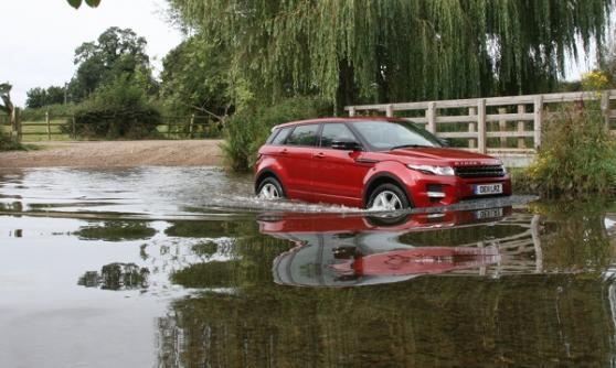 2012 Range Rover Evoque - (C) Motoring research