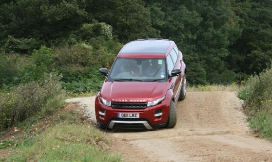 2012 Range Rover Evoque - (C) Motoring research
