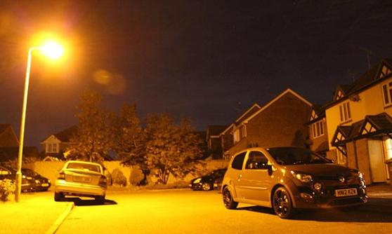 Twingo Renaultsport 133 in the dark (c) CJ Hubbard / Motoring Research
