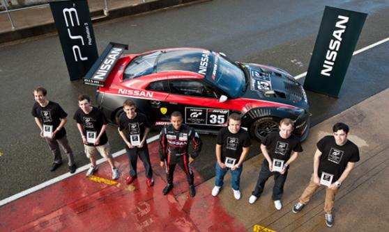 2011 GT Academy winner Jann Mardenborough - (C) Nissan