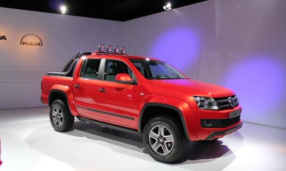 Volkswagen Amarok Canyon, VW Group Media Night, Sao Paulo Motor Show 2012, Brazil (c) CJ Hubbard / Motoring Research