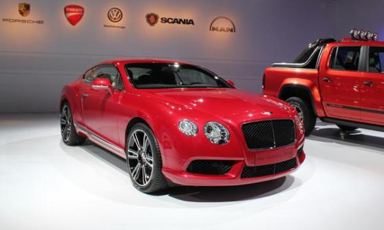 Bentley Continental GT V8, VW Group Media Night, Sao Paulo Motor Show 2012, Brazil (c) CJ Hubbard / Motoring Research