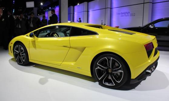 Lamborghini Gallardo LP560-4, VW Group Media Night, Sao Paulo Motor Show 2012, Brazil (c) CJ Hubbard / Motoring Research