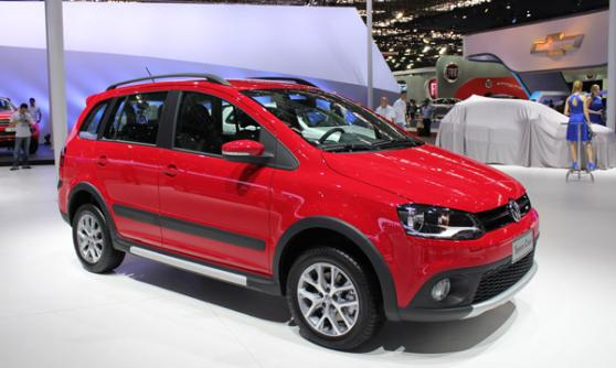 Volkswagen Space Cross, Sao Paulo Motor Show 2012, Brazil (c) CJ Hubbard / Motoring Research