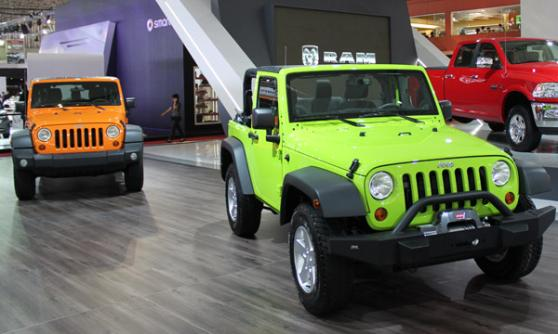 Jeep Wrangler (c) CJ Hubbard / Motoring Research