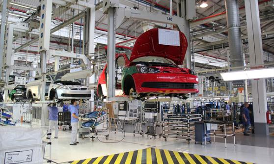 Volkswagen Anchieta factory, Brazil (c) CJ Hubbard / Motoring Research