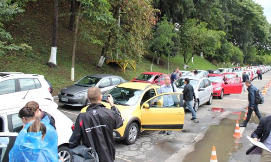 Test drives of Volkswagen do Brazil products (c) CJ Hubbard / Motoring Research