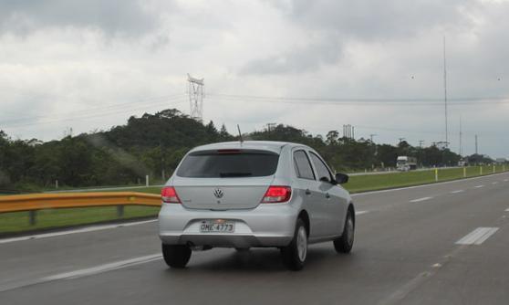 2013 Volkswagen Gol, Brazil (c) CJ Hubbard / Motoring Research