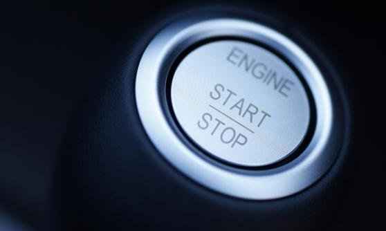 Engine start button - (C) Newspress