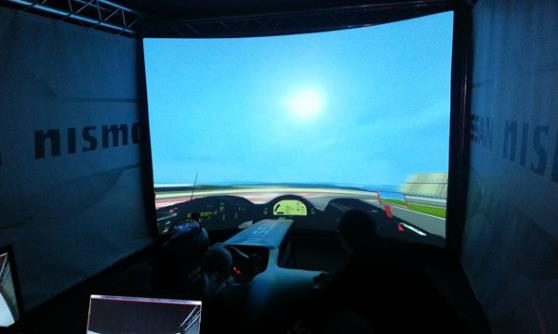 Nissan Race Simulator (c) CJ Hubbard / Motoring Research