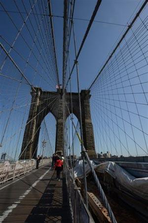 El puente de Brooklyn, Nueva York. Foto: Sebastián Álvaro