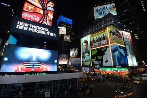 Times Square, Nueva York. Foto: Sebastián Álvaro