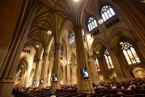 Catedral de San Patricio, Nueva York. Foto: Sebastián Álvaro