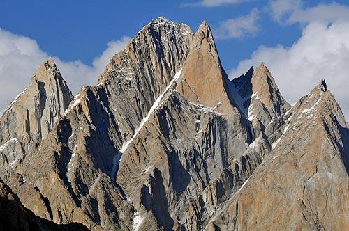 """""""La más genial expresión de las fuerzas orogénicas del planeta"""", así definió este lugar Günter Oskar Dyhrenfurth. Baltoro, Pakistán. Foto: Ana Marcos"""