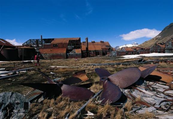 Factoria abandonada de Stromness. Foto: Sebastián Álvaro