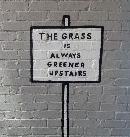 La hierba siempre está verde. Foto: Lara Viejo