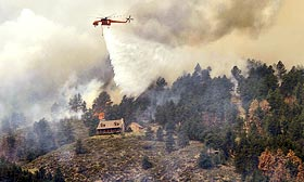 The High Park Fire in Larimer County, Colorado. Marc Piscotty/Getty Images