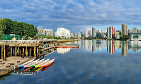 False Creek, Vancouver. (&#169; Michael Wheatly/Alamy)