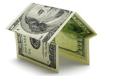 House made of a hundred dollar bill (© Metta image/Alamy)