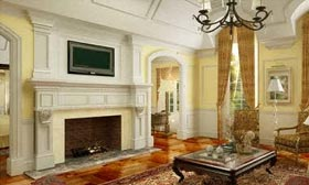 Mary J. Blige's home in Saddle River, N.J. (Courtesy of Realtor.com)